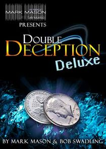 DOUBLE DECEPTION DELUXE EURO 50 CENT SET BY MARK MASON & BOB SWADLING