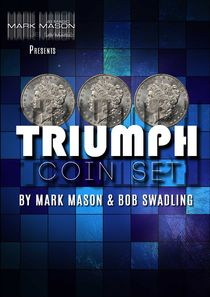 TRIUMPH COIN SET MORGAN DOLLARS BY MARK MASON & BOB SWADLING